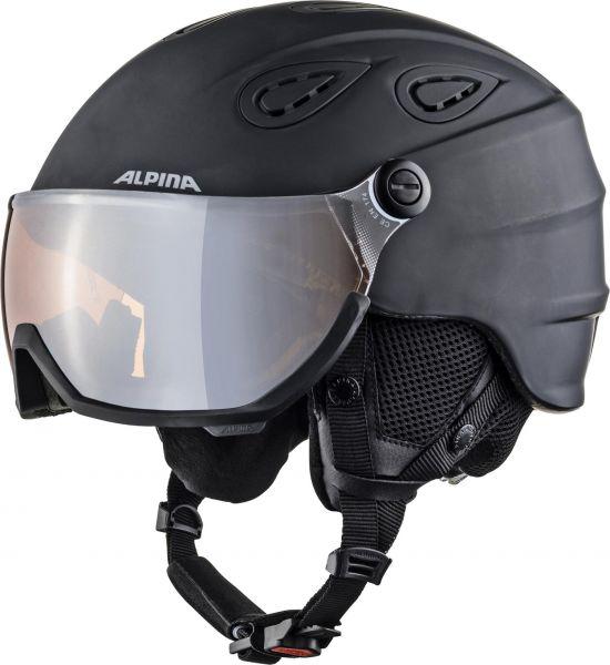 Alpina Grap Visor 2.0 HM black matt 2018/19