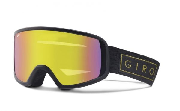 Giro Gaze black gold bar - yellow boost 2017/18