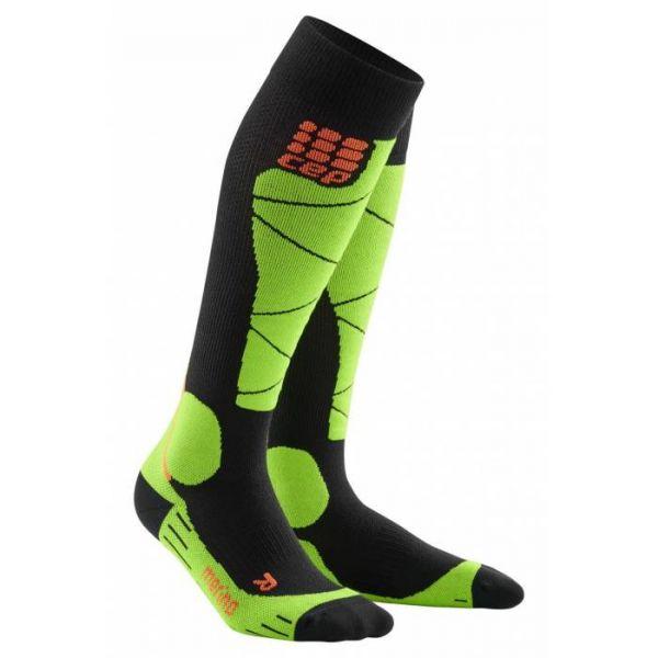 CEP Ski Merino Men black/green