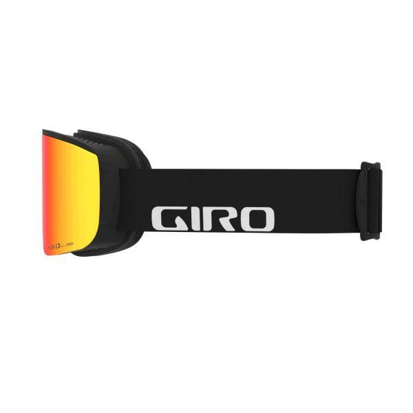Giro Axis blk wordmark/vivid ember infrared 2020/21