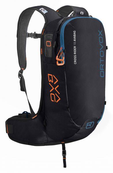 Ortovox Cross Rider 18 Avabag Kit black raven 2019/20
