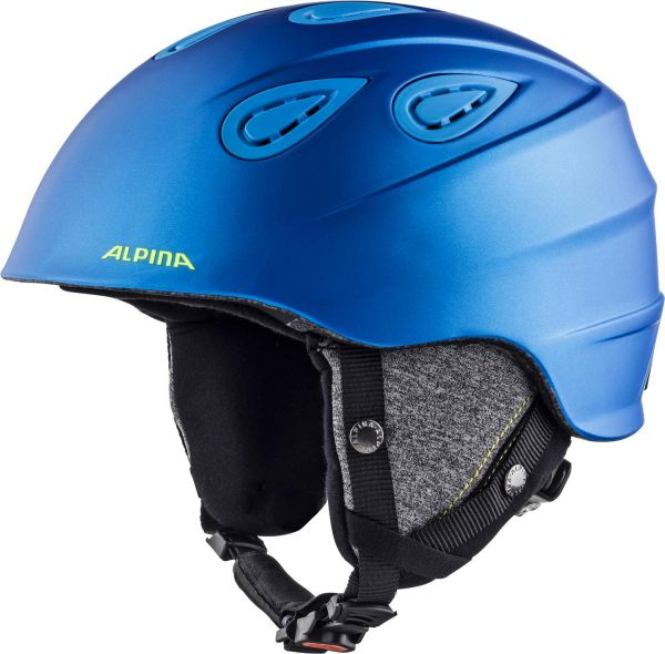 Alpina Grap 2.0 blue-neon-yellow matt 2018/19
